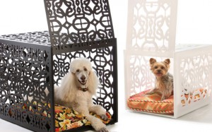 luxurious dog crate