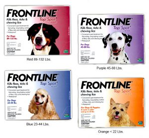 Frontline Top Spot for Dogs All Sizes - Budget Pet World Blog
