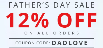 12% Father's Day Sale