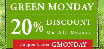 20% Green Monday Sale
