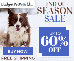 End of Season Sale is Here! Use Code WINSALE & Save up to 60% off on all pet products + Free Shipping
