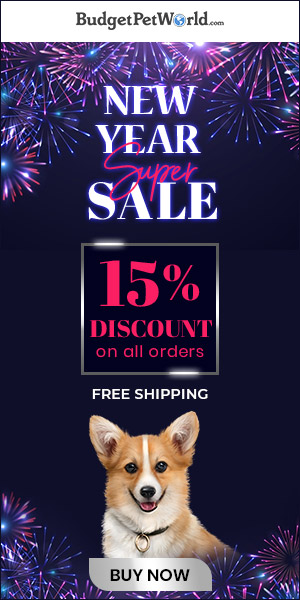 Year End Flash Sale is on! Grab 15% Extra off + Free Shipping on all pet supplies. Use Code : BPWNY15
