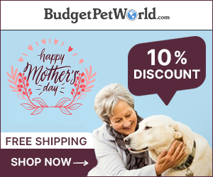 Celebrate Mother's Day with Extra 10% off + Free Shipping on all pet products. Use Code:-MDSALE10