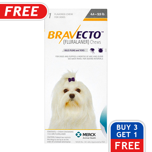 Bravecto For Dogs Buy Bravecto Chewable Flea Amp Tick