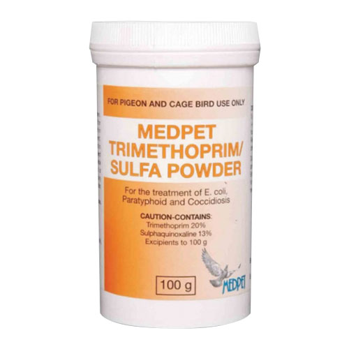 Trimethoprim Sulfa Powder 100 gm 1 Pack
