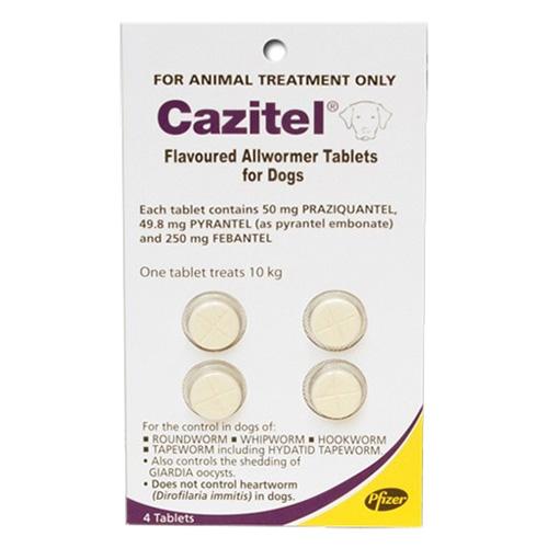 Cazitel Flavoured Allwormer