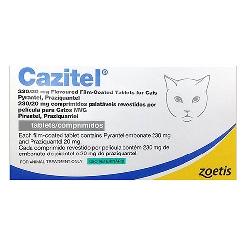 Cazitel for Cats for Cats 2 Tablet