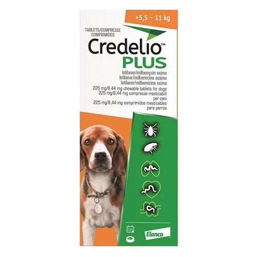 CREDELIO PLUS For Medium Dog 5.5-11kg
