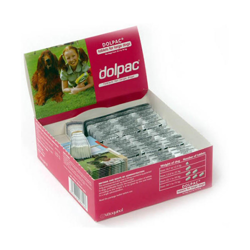Dolpac Worming Tablets for Large Dogs 2 Tablet