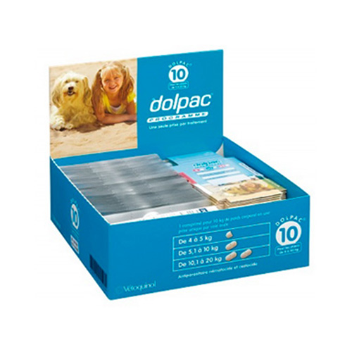 Dolpac Worming Tablets for Medium Dogs 2 Tablet