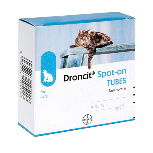 Droncit Spot On for Cats for Cats