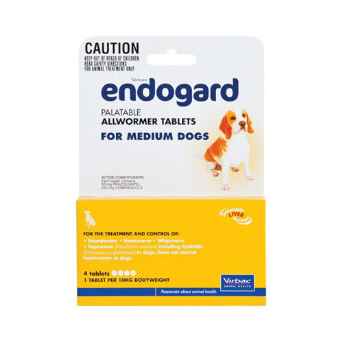 Endogard for Medium Dogs (10 kg) 1 Tablet