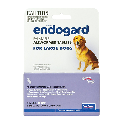 Endogard for Large Dogs (20 kg) 1 Tablet