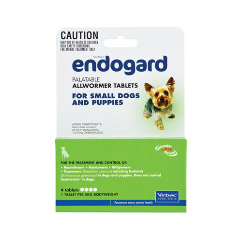 Endogard for Small Dogs (5 kg) 4 Tablet