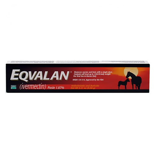Eqvalan Paste for Horses 6.42 gm 1 Syringe