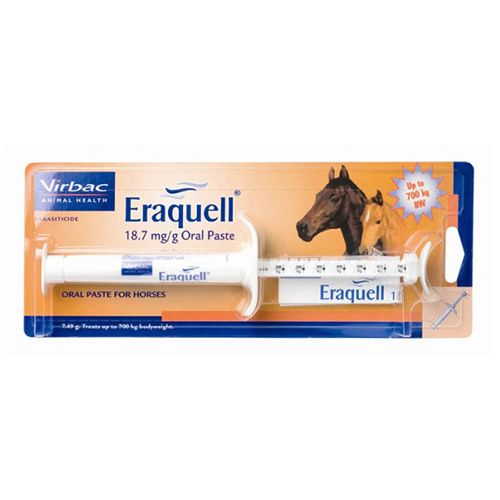 Eraquell Horse Wormer Paste 7.49gm 1 Syringe