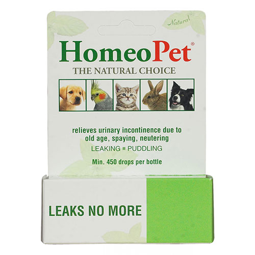 Leaks No More for Dogs/Cats