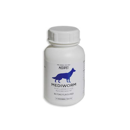Mediworm for Large Dogs (up to 88 lbs) 4 Tablet