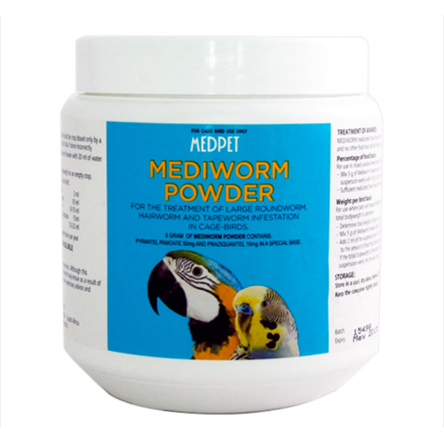 Mediworm Powder for Caged Birds