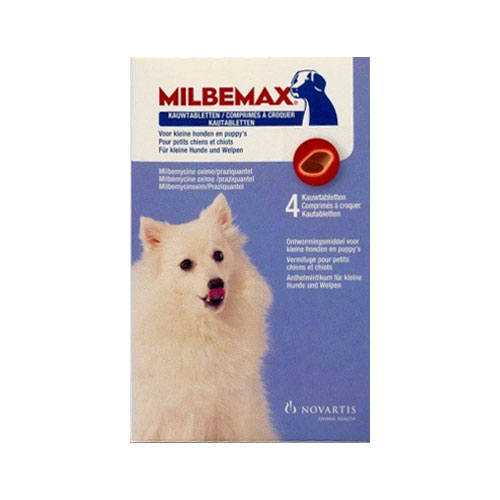Milbemax Chewable For Small Dogs Under 5 Kgs