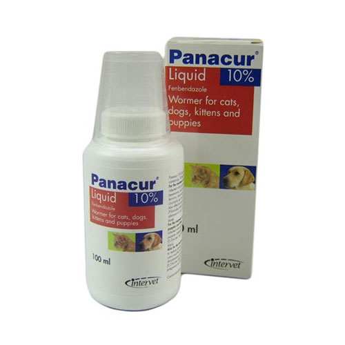 Panacur Oral Suspension for Dogs and Cats 100 Ml