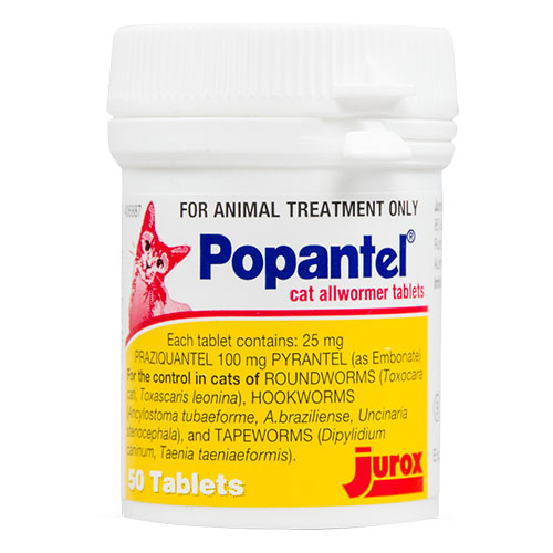 Popantel Cats 4 Tablet