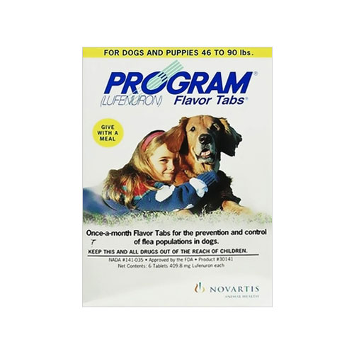 Program Flavor Tablets for Dogs 44.1 - 88 lbs (Grey) 6 Tablet