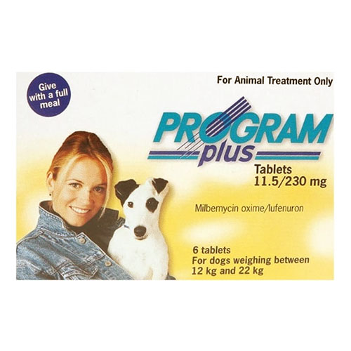 Program Plus for Dogs 21 - 45 lbs (Yellow) <font color='#ff0000'>Clearance Sale 20% Off</font>