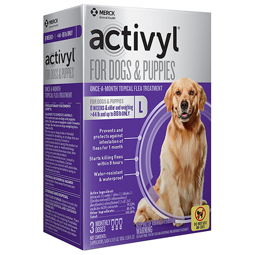 Activyl For Large Dogs 44 – 88 lbs