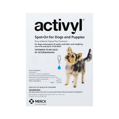 Activyl is a topical spot-on flea and tick treatment for dogs and cats, Buy Activyl Spot-On for Dogs and Puppies Online at lowest Price.