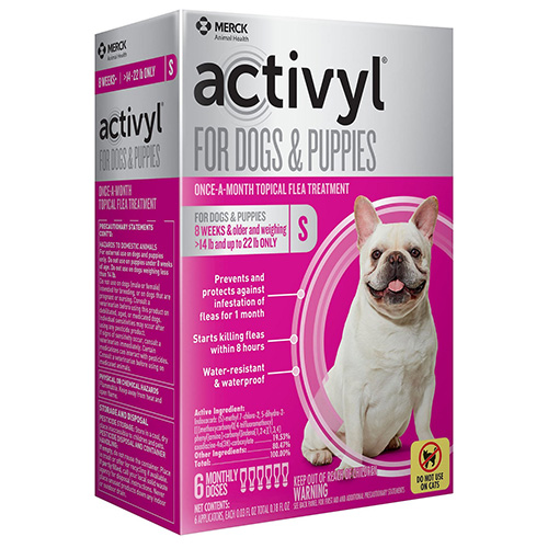 Activyl For Small Dogs 14 – 22 lbs Brown