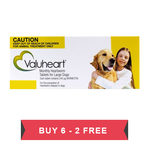 Valuheart For Large Dogs 45- 88 lbs (Gold)