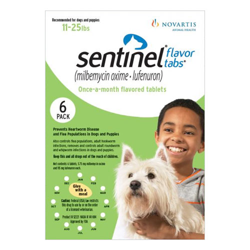 Sentinel Dogs 11-25 lbs (Green)