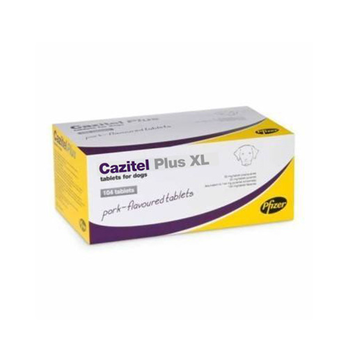 Cazitel Plus XL Tablets for Dogs 2 Tablet