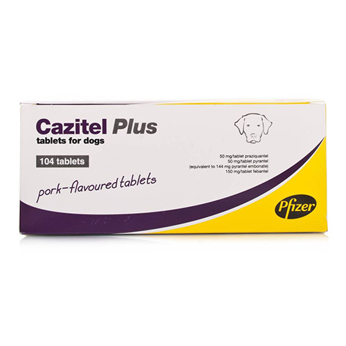 Cazitel Plus Tablets for Dogs 4 Tablet