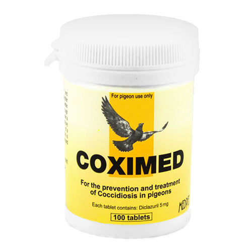 Coximed 100 Tablets 1 Pack
