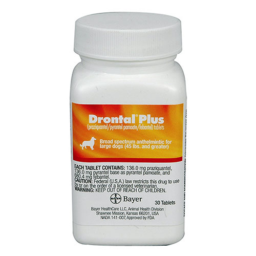 Drontal for Large Dogs 2 Tablet