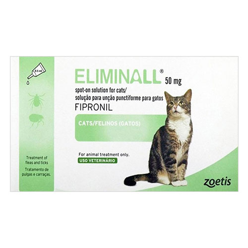 Eliminall Spot On for Cats 3 Pack