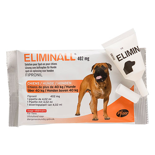 Eliminall Spot On for Dogs Over 88 lbs. (Red) 12 Pack