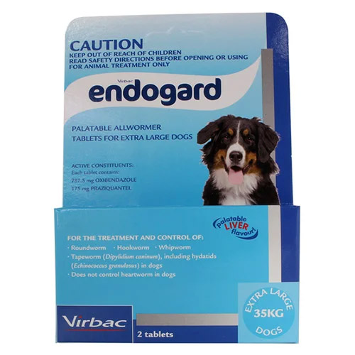 Endogard For Extra Large Dogs 44 Lbs (35 Kg)