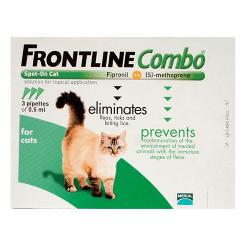 Frontline Plus (Combo) (Combo) for Cats 3 Pipette
