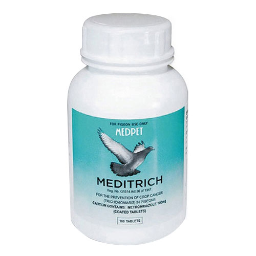 Meditrich 100 Tablets 1 Pack