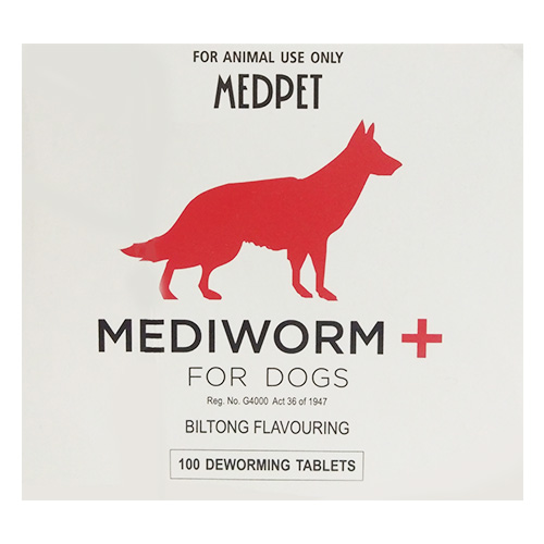 Mediworm Plus for Dogs 22 lbs (10 kg)