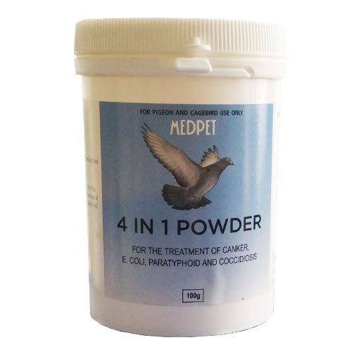 MEDPET 4 IN 1 Powder 100 gm 1 Pack