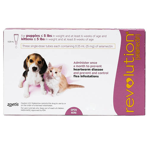 Revolution Kittens/Puppies (Pink) 6 Doses