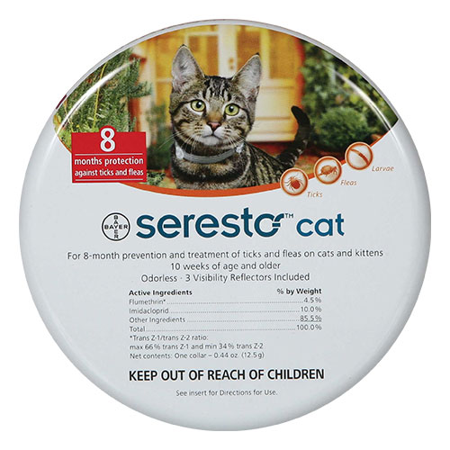 Seresto Collar for Cats 38 Cms 1 Pack