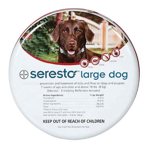 Seresto Dog Collar For Large Dogs 27.5 inch (70 cm) 1 Piece