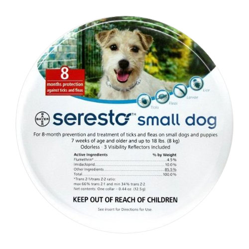 Seresto Dog Collar For Small Dogs 15 inch (38 cm) 1 Piece