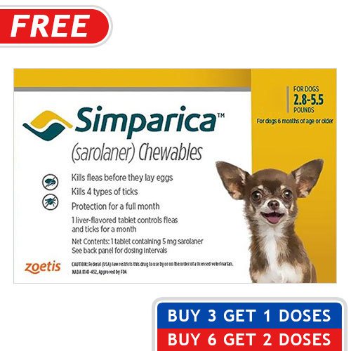 Simparica For Dogs Simparica Flea Amp Tick Chewables For Dogs