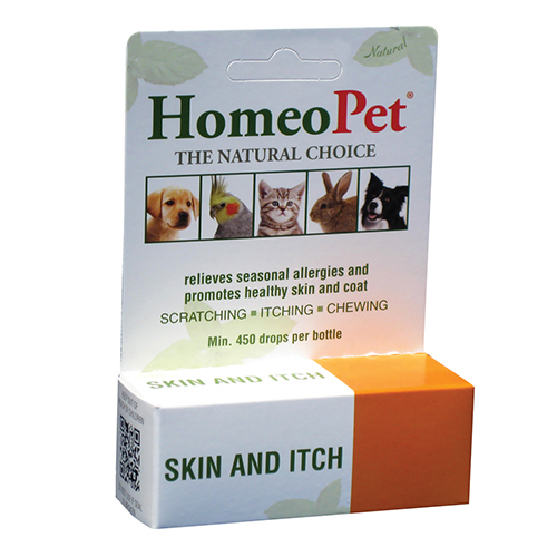 HomeoPet Skin and itch Relief fo Dogs/Cats 15 Ml